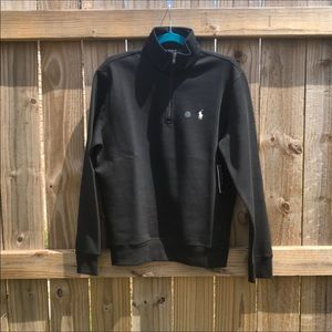 Polo By Ralph Lauren Half Zip Mockneck.